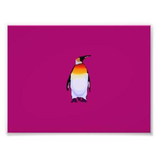 Penguin Wine Photo Art