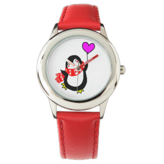 Penguin with Balloon Watch