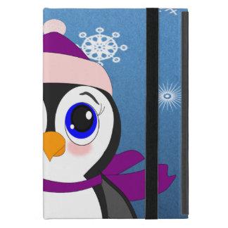 Penguin with  Hat iPad Mini Case