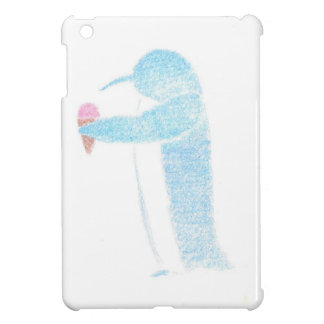Penguin With Ice Cream Case For The iPad Mini