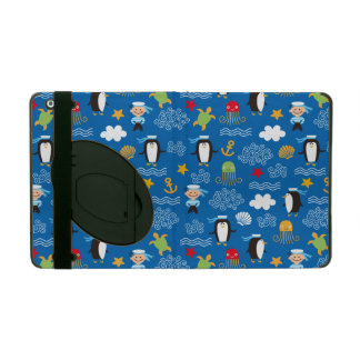 Penguins and Sailors iPad Cases
