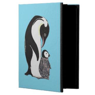 Penguins Blue iPad Case