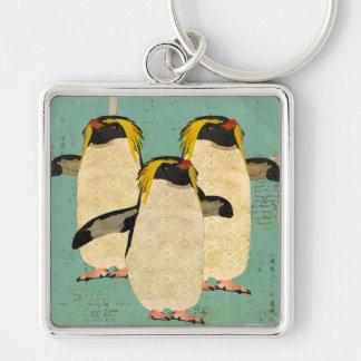 Penguins Blue Lagoon Keychain