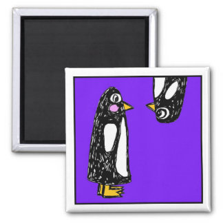 Penguins - Chit & Chat - What's Up? - magnet