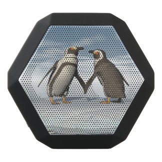Penguins couple black bluetooth speaker