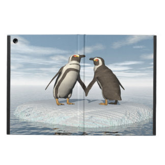 Penguins couple case for iPad air