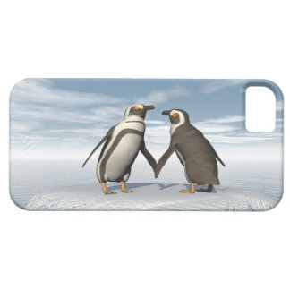 Penguins couple iPhone 5 cover