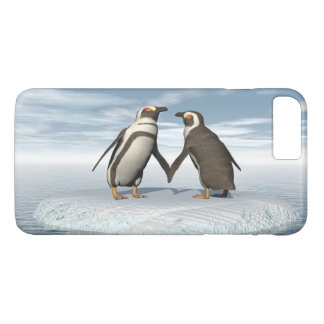 Penguins couple iPhone 8 plus/7 plus case