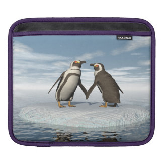 Penguins couple sleeve for iPads
