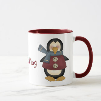 Penguins Custom Mug