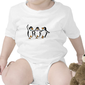 Penguins Dancing Baby Creeper