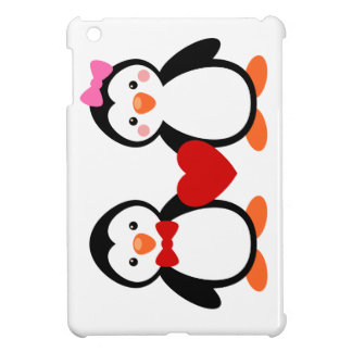 Penguins in Love Case For The iPad Mini