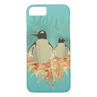 Penguins in Paradise iPhone 8/7 Case