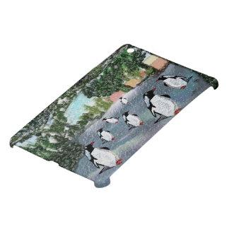 Penguins in the Snow iPad Mini Covers