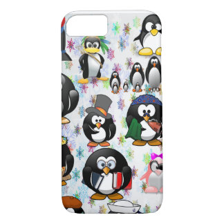 penguins iPhone 8/7 case