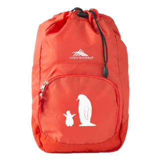 Penguins: Mother and Chick Backpack