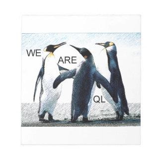 penguins notepads