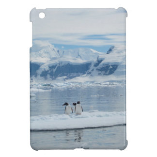 Penguins on an iceberg case for the iPad mini