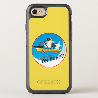 Penguins On Board OtterBox Symmetry iPhone 8/7 Case
