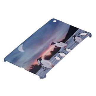 Penguins on Ice iPad Mini Cover