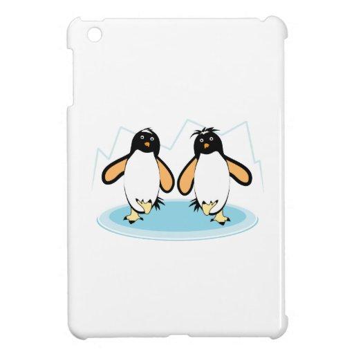 Penguins On Ice iPad Mini Covers