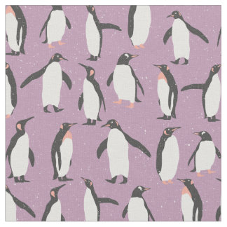 Penguins pattern - Christmas gifts Fabric