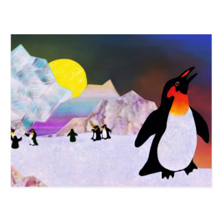 Penguins Postcard