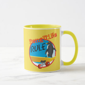 Penguins Rule Mug