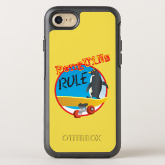 Penguins RULE Otter Box OtterBox Symmetry iPhone 8/7 Case