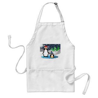 Penguins Standard Apron
