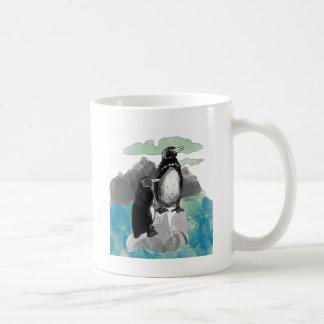 Penguins Watercolor Mug
