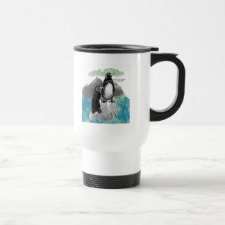 Penguins Watercolor Coffee Mugs