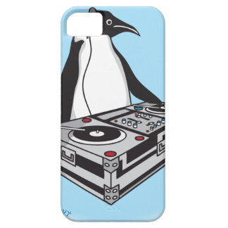 penguinX3[1] iPhone 5 Case