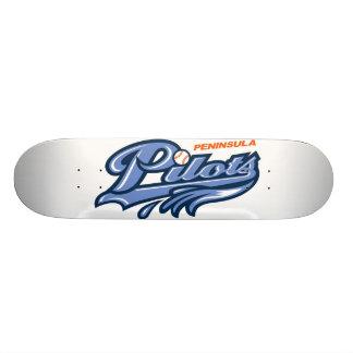 Peninsula Pilots Skateboard