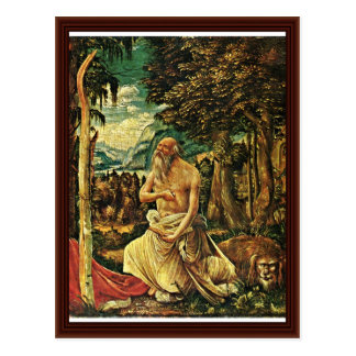 Penitent St. Jerome By Albrecht Altdorfer Postcard