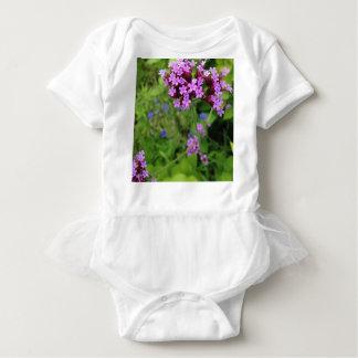Penland Purple Flower: Sallie by My Side Baby Bodysuit