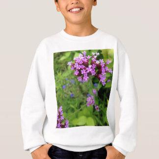Penland Purple Flower: Sallie by My Side Sweatshirt