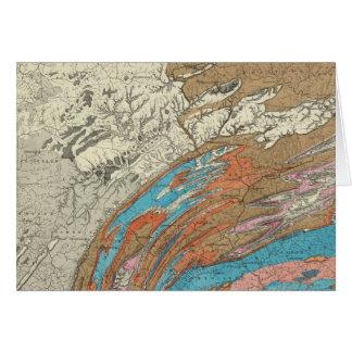 Penn geological formations card