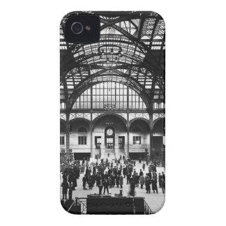 Penn Station New York City Vintage Railroad iPhone 4 Case-Mate Case