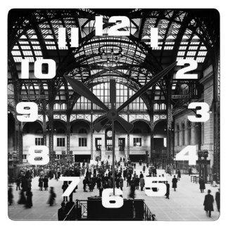 Penn Station New York City Vintage Railroad Clocks