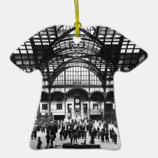 Penn Station New York City Vintage Railroad Christmas Tree Ornaments