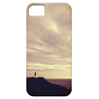 Pennard cliffs at sunset, Gower, Swansea iPhone 5 Cover
