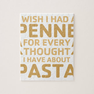 Penne Pasta Jigsaw Puzzle