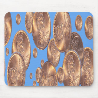 pennies from heaven mouse pad