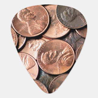 Pennies Guitar Pick