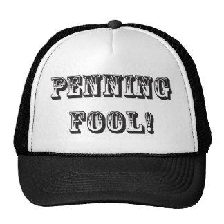 Penning Fool Mesh Hats