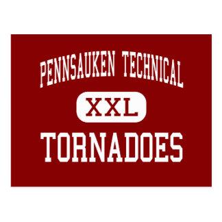 Pennsauken Technical - Tornadoes - Pennsauken Postcard