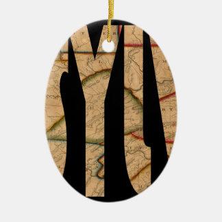 pennsylvania1811 ceramic ornament