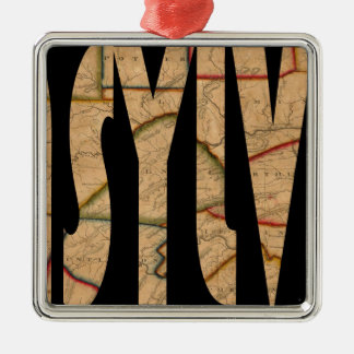 pennsylvania1811 metal ornament