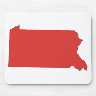Pennsylvania -a RED state Mouse Pad
